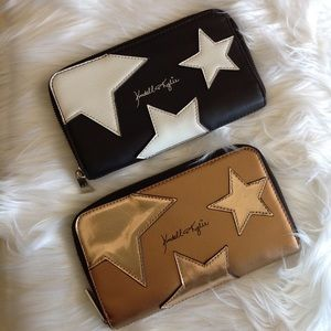 Two Kendall & Kylie paparazzi star wallets
